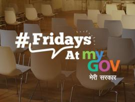 Fridays At MyGov