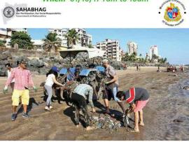 Juhu Beach Clean - Up Drive